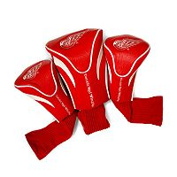 Team Golf Detroit Red Wings 3-pc. Contour Head Cover Set