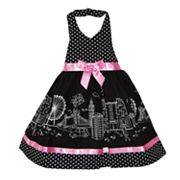 Blueberi Boulevard London Halter Sundress - Baby