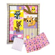Trend Lab 3-pc. Lola Fox and Friends Crib Set