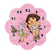 Dora the Explorer Exploring the Wild Wall Clock by Trend Lab