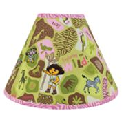 Dora the Explorer Exploring the Wild Lamp Shade by Trend Lab