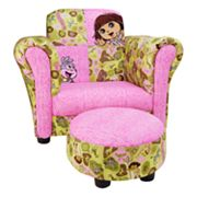 Dora the Explorer Exploring the Wild Club Chair by Trend Lab