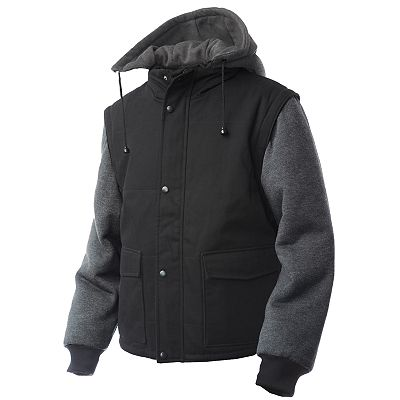 Tough Duck Convertible Hooded Jacket - Big and Tall