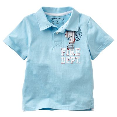 SONOMA life + style Fire Dept. Polo - Toddler