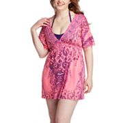 One World Scroll Sublimation Cover-Up - Women's Plus