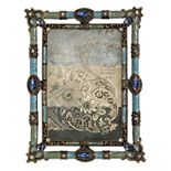 """Enchante Accessories Jeweled 4"""" x 6"""" Frame"""