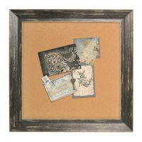 "Enchante Accessories Framed 15"" x 15"" Cork Board"