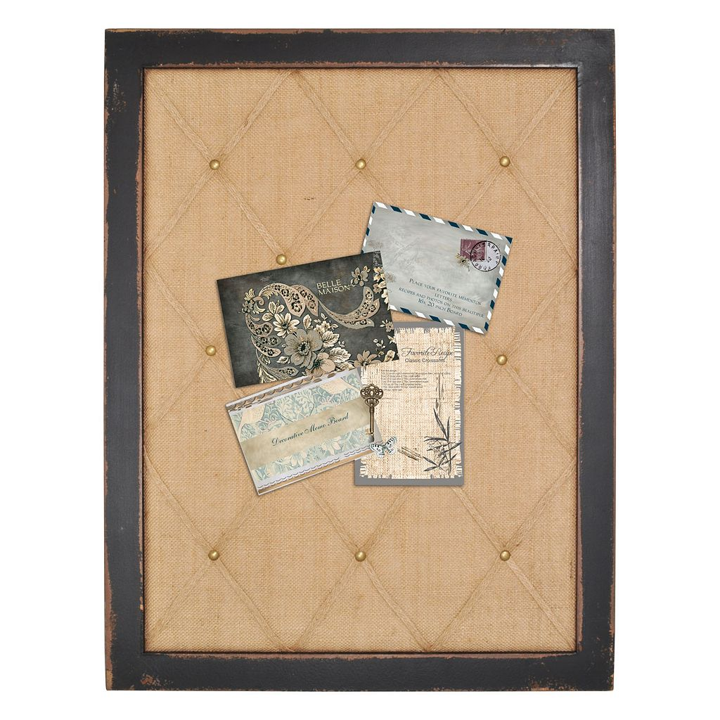 Enchante Accessories Distressed Framed Memo Board