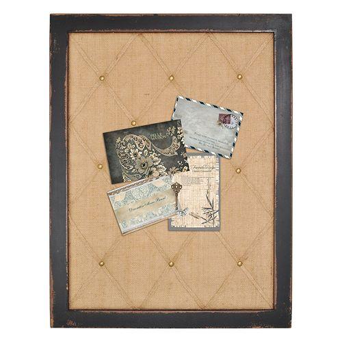 Enchante Accessories Distressed Framed Memo Board