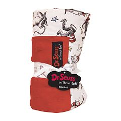 Dr. Seuss 'The Cat in the Hat' Red & White Receiving Blanket by Trend Lab