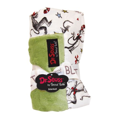 Dr. Seuss The Cat in the Hat Receiving Blanket by Trend Lab