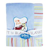 Dr. Seuss One Fish, Two Fish Receiving Blanket by Trend Lab