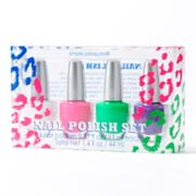 Simple Pleasures 4-pc. Cheetah Nail Polish Gift Set