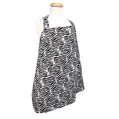 Trend Lab Zebra Nursing Cover