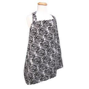 Trend Lab Zebra Nursing Cover