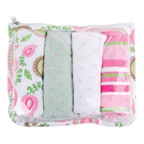 Trend Lab 5-pc. Paisley Burp Cloth Set