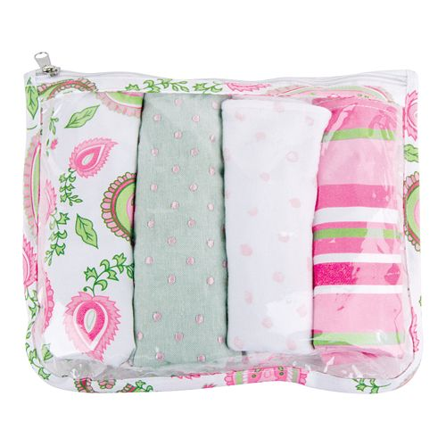 Trend Lab 5-pc. Paisley Burp Cloth Set