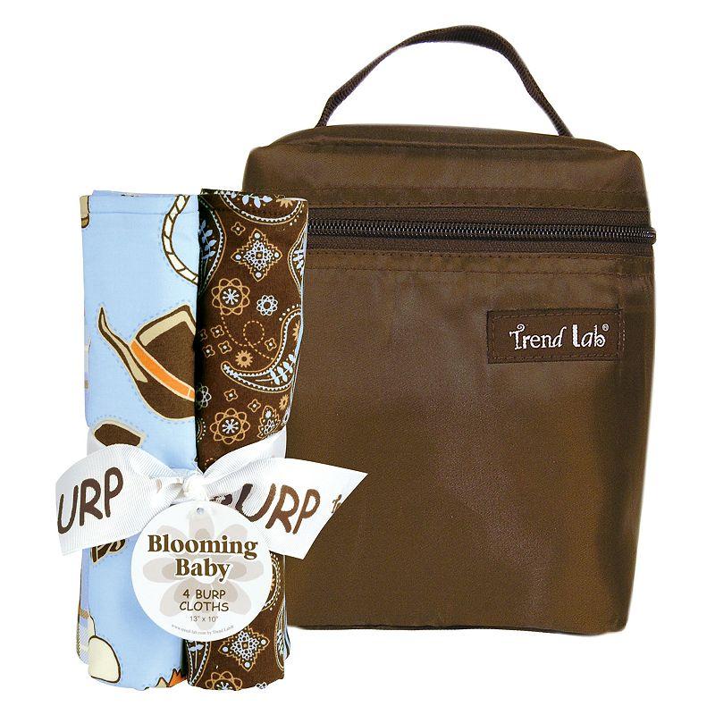Trend Lab 5-pc. Cowboy Baby Bottle Bag Set