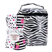 Trend Lab 5-pc. Zahara Bottle Bag Set - Zebra