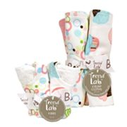 Trend Lab 8-pc. Cupcake Bib and Burp Cloth Set