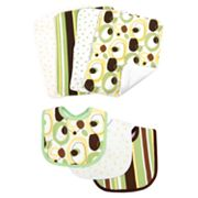 Trend Lab 7-pc. Giggles Bib and Burp Cloth Set