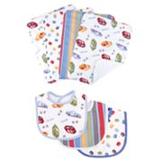 NASCAR 7-pc. Bib and Burp Cloth Set by Trend Lab