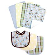 Trend Lab 7-pc. Baby Barnyard Bib and Burp Cloth Set