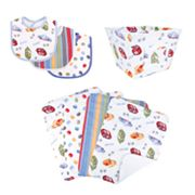 NASCAR 8-pc. Bib, Burp Cloth and Bin Set by Trend Lab