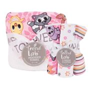 Trend Lab 6-pc. Lola Fox Hooded Towel and Wash Cloth Set