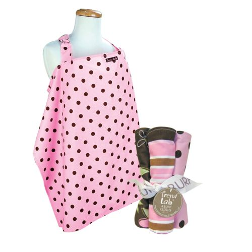 Trend Lab 5-pc. Maya Nursing Cover and Burp Cloth Set