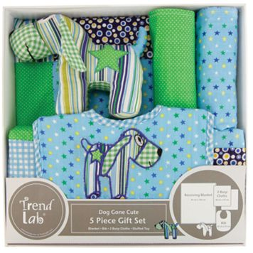 Trend Lab 5-pc. Dog Gone Cute Gift Set
