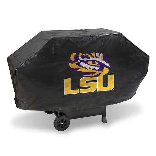 LSU Tigers Vinyl Grill Cover