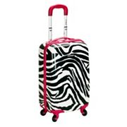 Rockland Luggage, Zebra 20-in. Hardside Spinner Upright