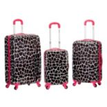 Rockland 3 pc Hardside Spinner Luggage Set