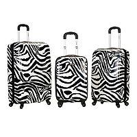 Rockland 3 pc Hardside Spinner Luggage Set