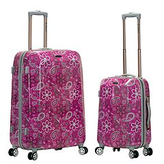 Rockland Graphic 2-Piece Hardside Spinner Luggage Set