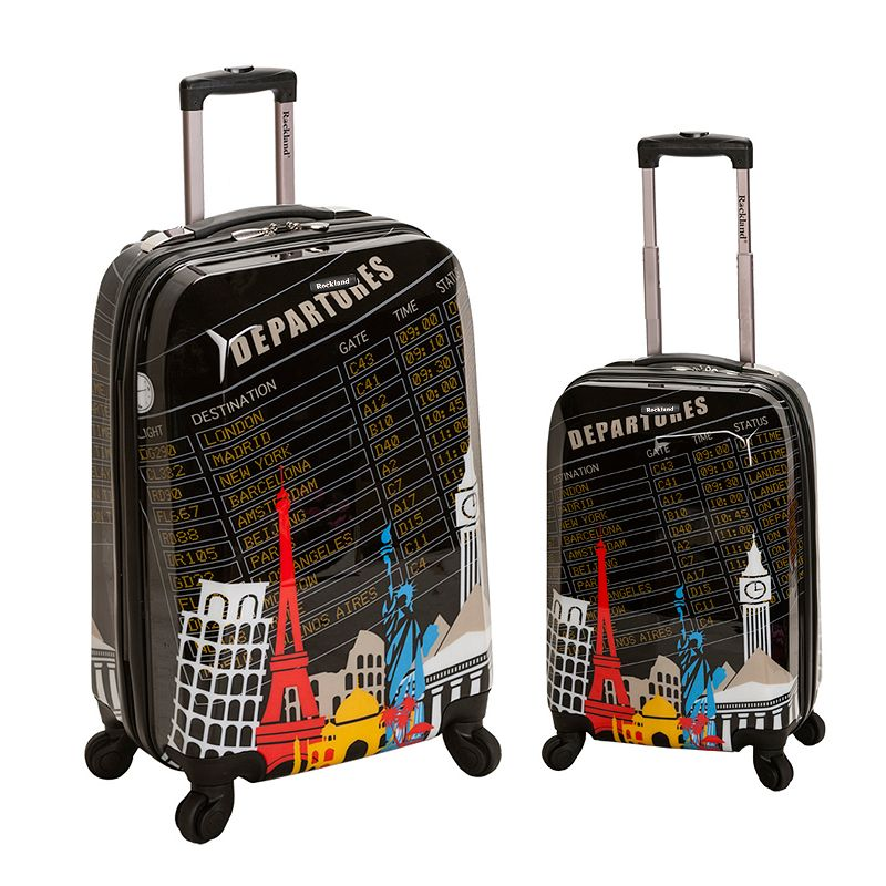 Rockland Luggage, 2-pc. Hardside Spinner Luggage Set (Departure)