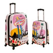 Rockland Vegas 2-pc. Hardside Spinner Luggage Set