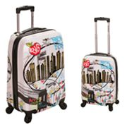 Rockland New York 2-pc. Hardside Spinner Luggage Set