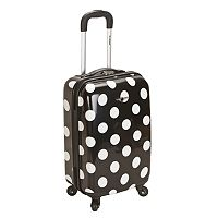 Rockland Dot 20-Inch Hardside Spinner Luggage
