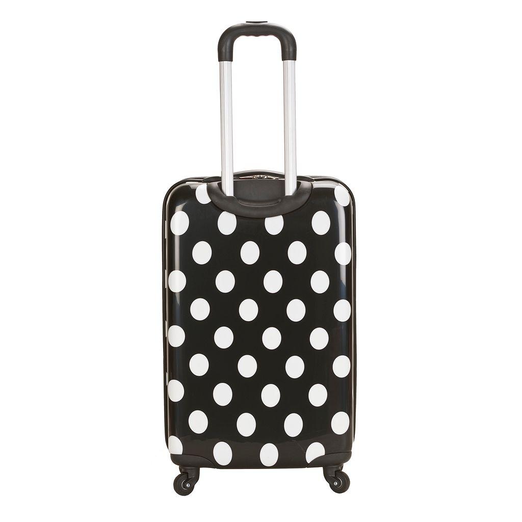 Rockland Dot 20-Inch Hardside Spinner Luggage