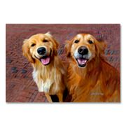 Ginger and Nutmeg Canvas Wall Art by Robert McClintock