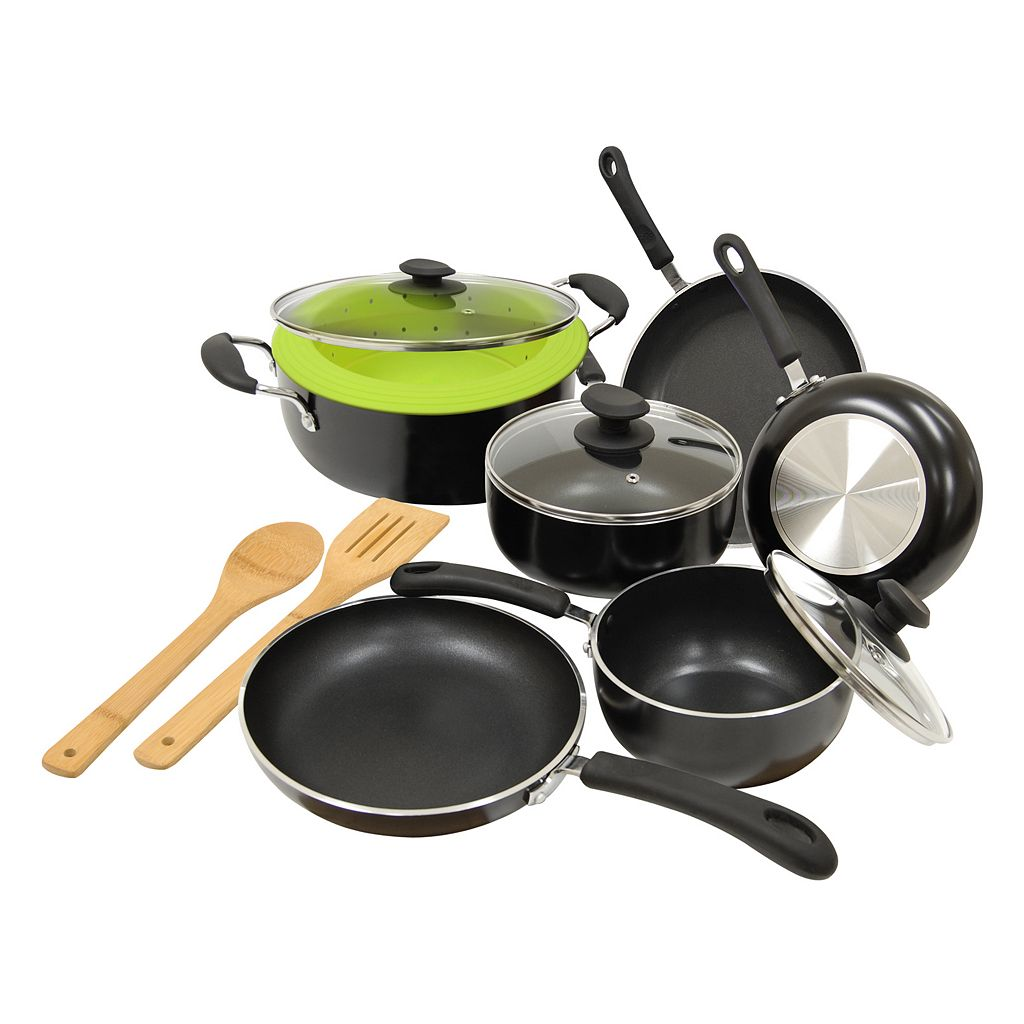 Ecolution Heavyweight 12-pc. Cookware Set