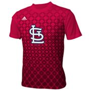 adidas St. Louis Cardinals Diamond Tee - Boys 8-20