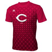 adidas Cincinnati Reds Diamond Tee - Boys 8-20