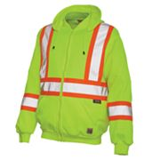 Work King High Visibility Fleece Hoodie - Big and Tall