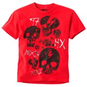 Helix Rock Skull Tee - Boys 8-20