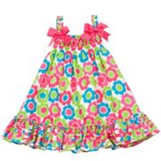 Rare Editions Floral Smocked Sundress - Baby