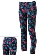 SO Floral Skinny Jeans - Juniors