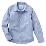SONOMA life + style Solid Poplin Button-Down Shirt - Boys 4-7x
